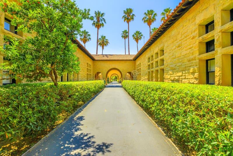 Stanford Gate Palo Alto stock fotografie