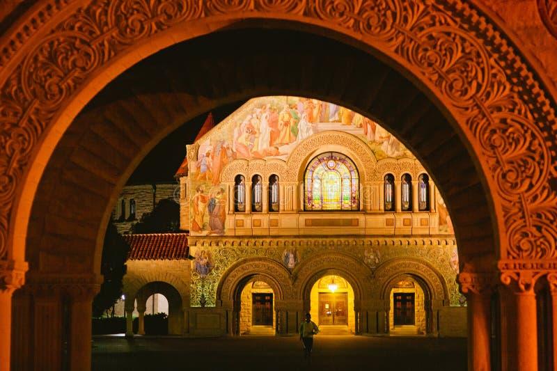 Stanford Memorial Church immagine stock