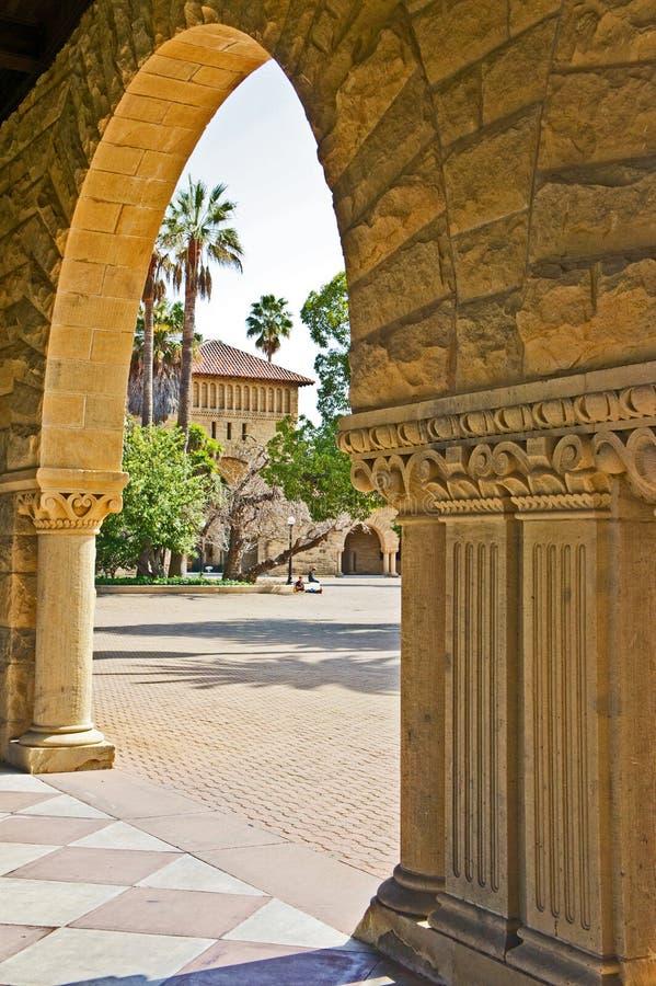 Stanford-universitet royaltyfri foto