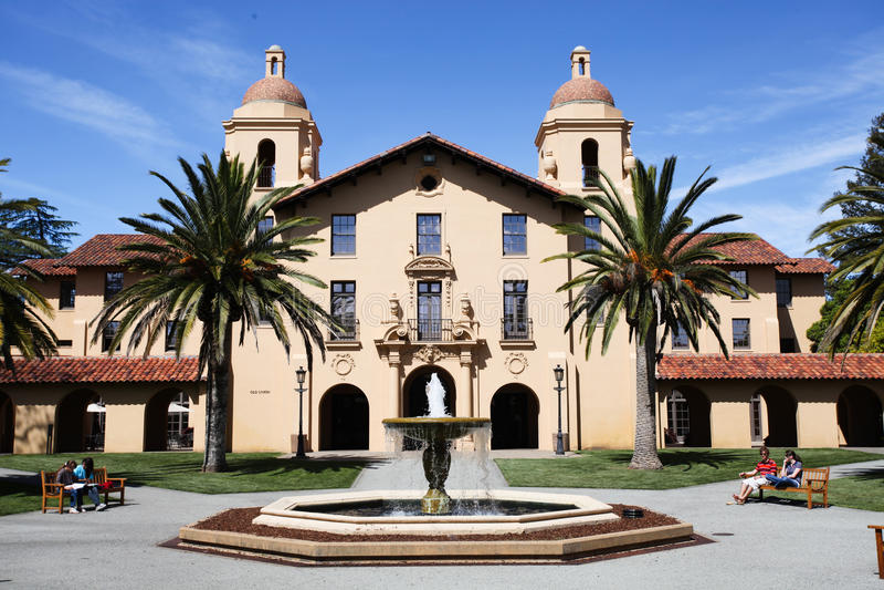 Stanford-universitet royaltyfria bilder