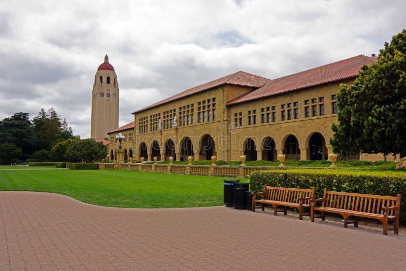 Stanford University royaltyfria bilder