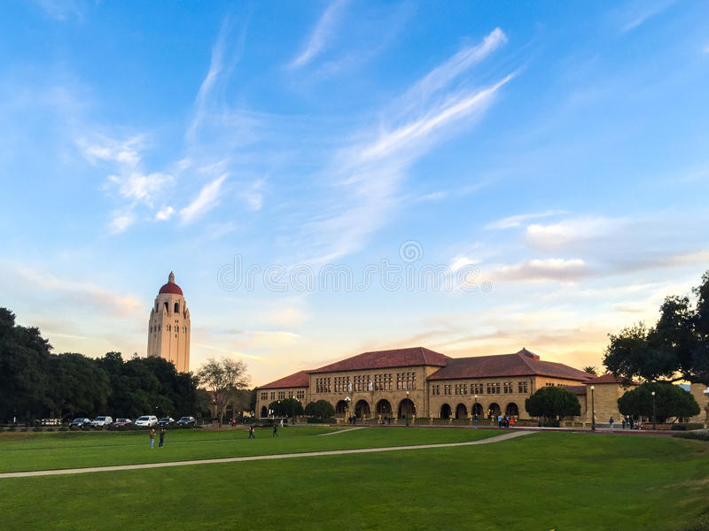 Stanford University immagine stock libera da diritti