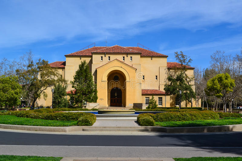 Stanford University fotografie stock libere da diritti
