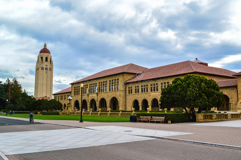 Stanford University-campus royalty-vrije stock foto