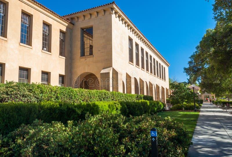 Stanford University Campus en Palo Alto, California imagen de archivo