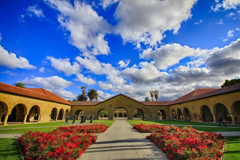 Stanford University in Kalifornien, US stockfotos