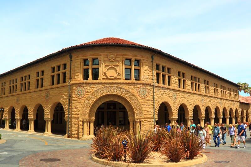 Stanford University Language Corner fotografering för bildbyråer