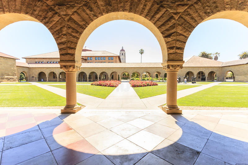 Stanford University a Palo Alto fotografia stock
