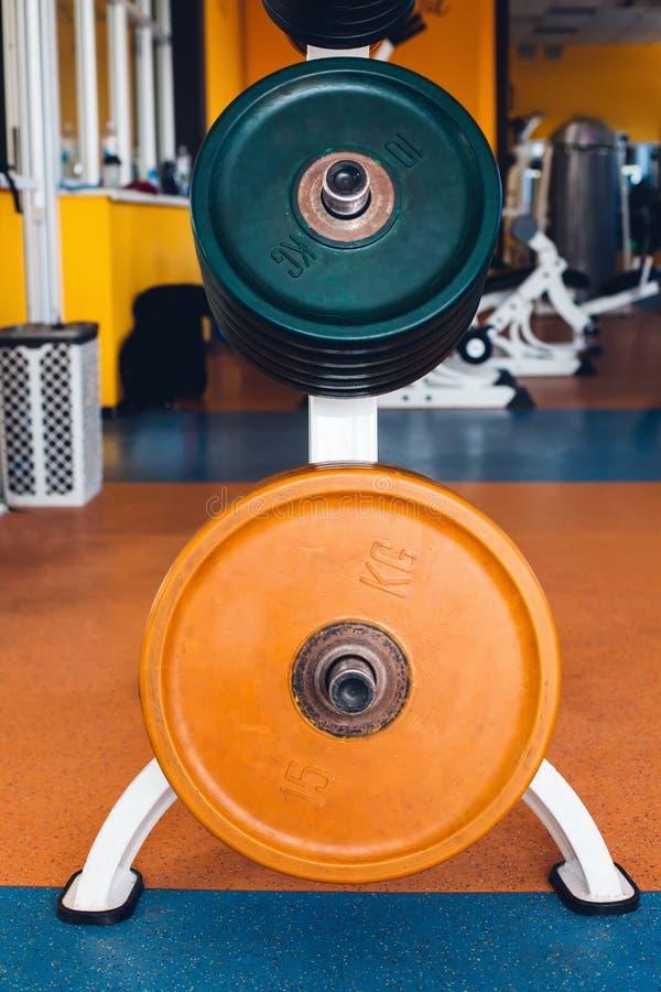 Stange-Glocken in der Turnhalle lizenzfreie stockfotos