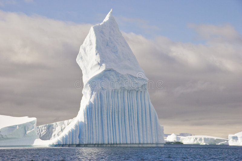 Stange Iceberg Shape Stock Photos