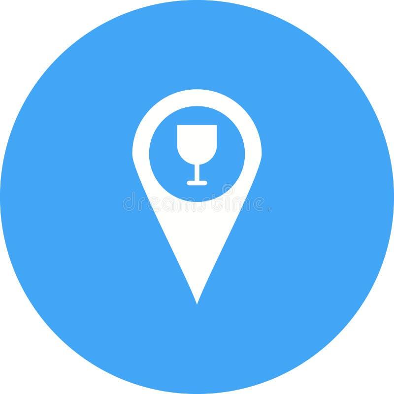 Stangen-Standort lizenzfreie abbildung