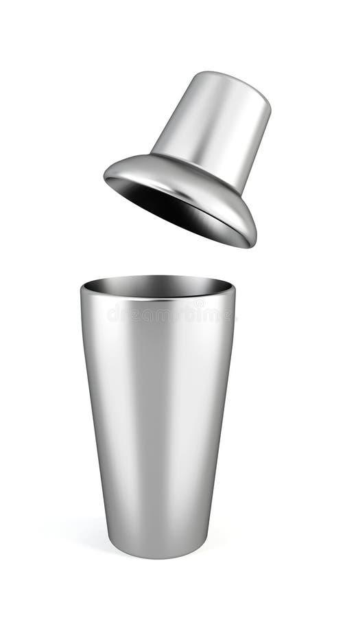 Stangenschüttel-apparat stock abbildung
