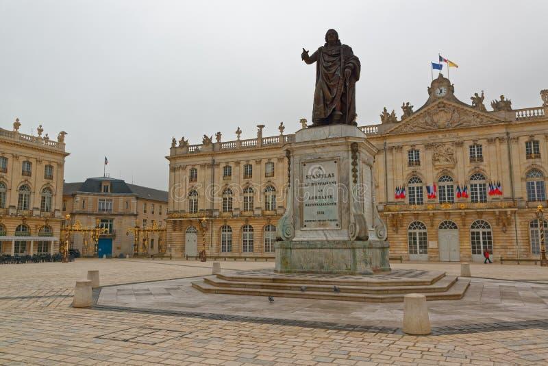 Stanislas Place i Nancy fotografering för bildbyråer