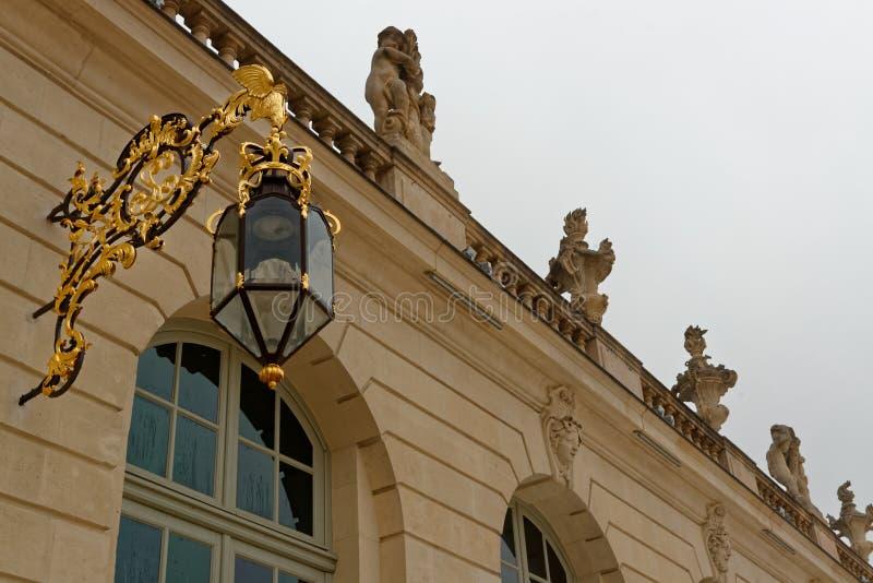 Stanislas Place i Nancy arkivfoto