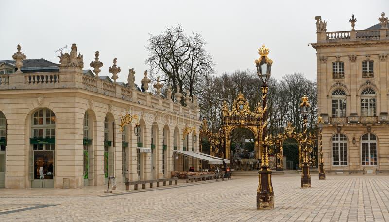 Stanislas Place in Nancy royalty-vrije stock afbeelding