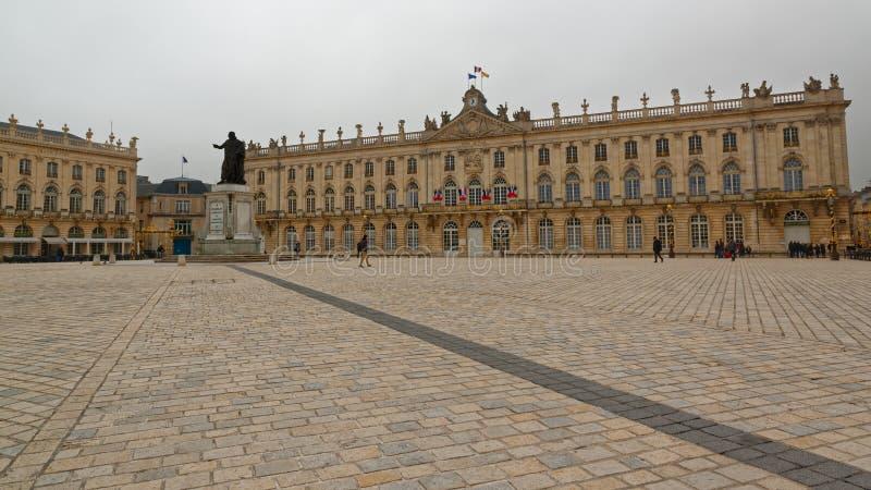 Stanislas Place in Nancy stock foto's