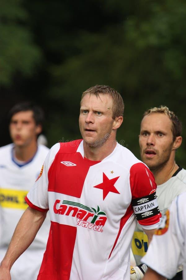 Stanislav Vlcek - Slavia stock afbeelding