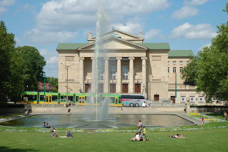 Download Stanislaw Moniuszko Theater En Poznán, Polonia Imagen de archivo editorial - Imagen de polonia, edificio: 44852784