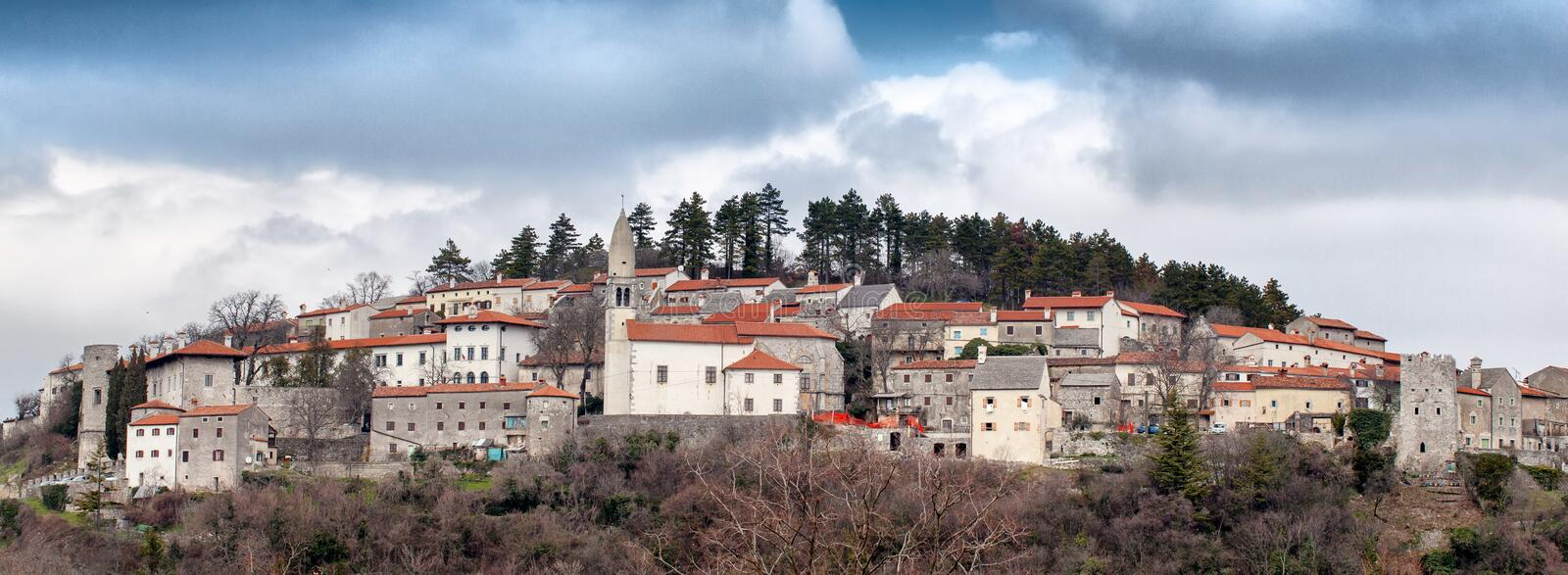 Stanjel, Slovenia. Stanjel, beautiful small village in Slovenia royalty free stock images