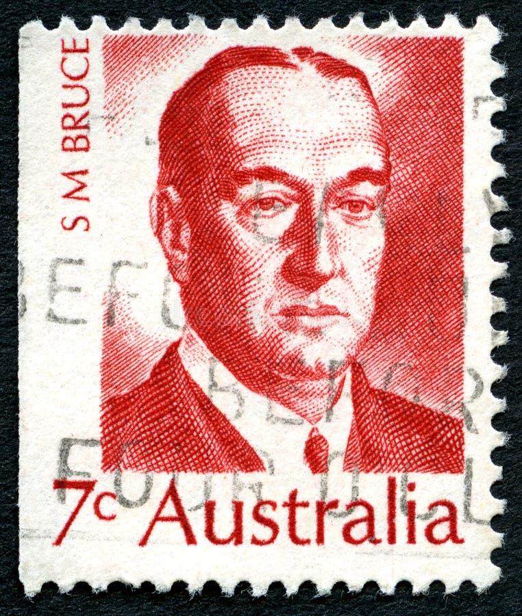 Stanley Bruce Australian Postage Stamp foto de archivo libre de regalías