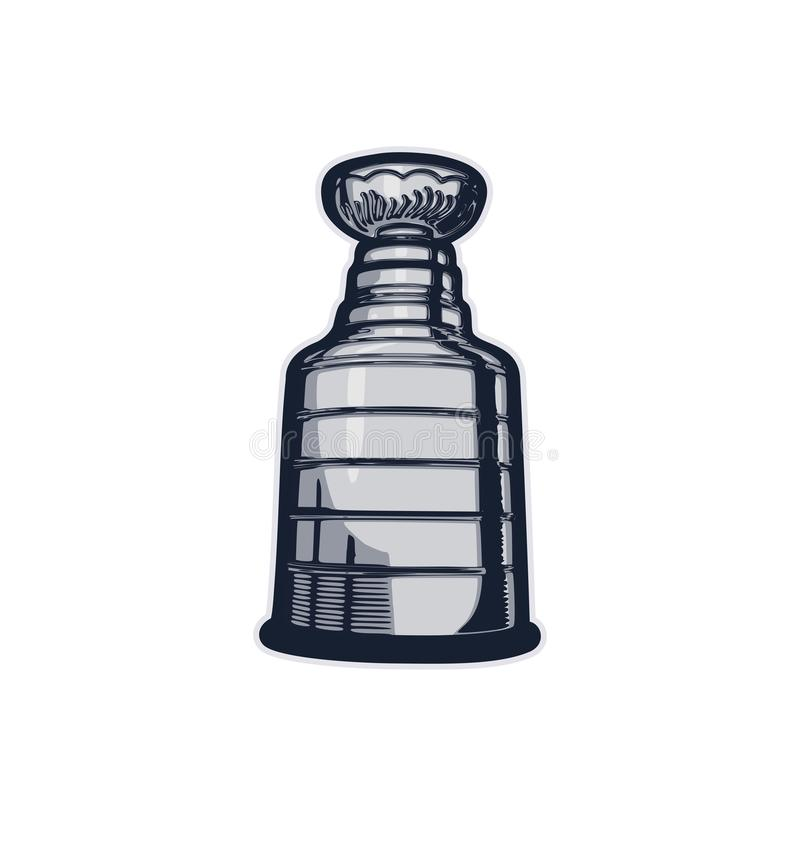 Stanley Cup ilustração do vetor