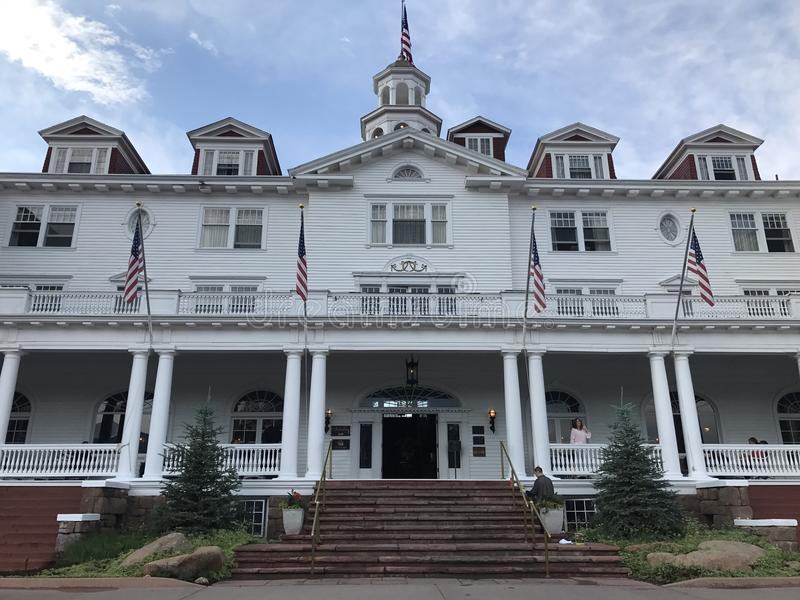 The Stanley Hotel stock image