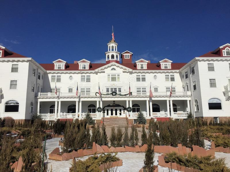 The Stanley Hotel stock photo