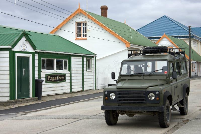 Stanley - Islas Malvinas fotografía de archivo libre de regalías