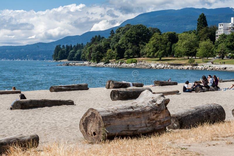 Stanley Park Vancouver images libres de droits