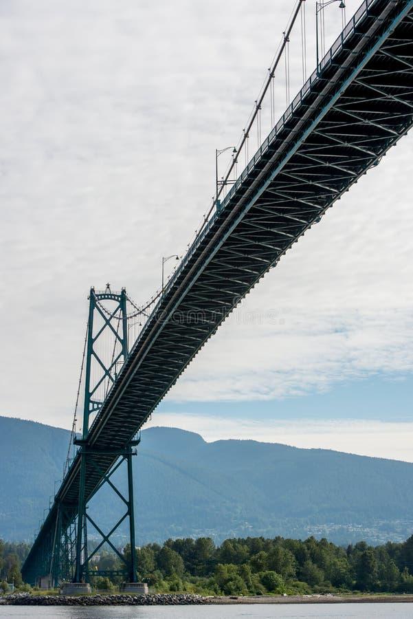 Stanley parkerar Vancouver Kanada royaltyfri fotografi