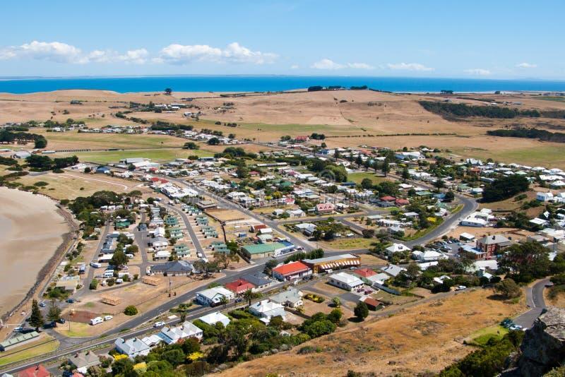 Stanley Tasmanien lizenzfreie stockbilder