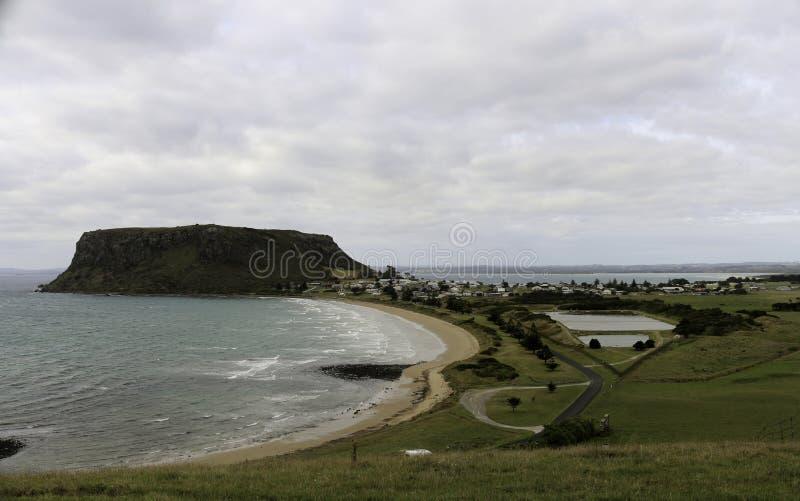 Stanley, Tasmanien lizenzfreie stockbilder