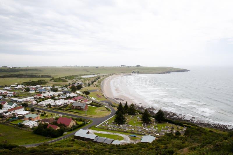 Stanley - Tasmanien lizenzfreies stockfoto