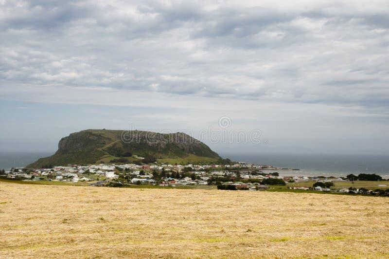Stanley - Tasmanien stockfoto