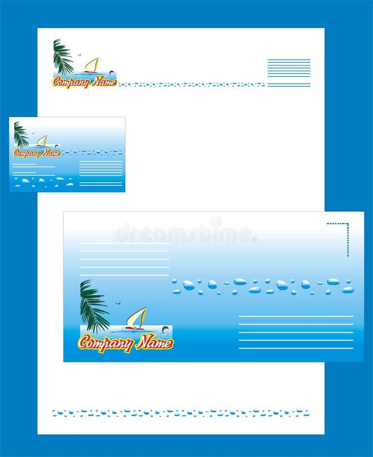 stanowczy korporacyjny logo stylu turysta ilustracji