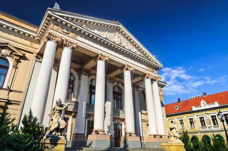 Stanu Theatre Oradea, Rumunia obraz stock