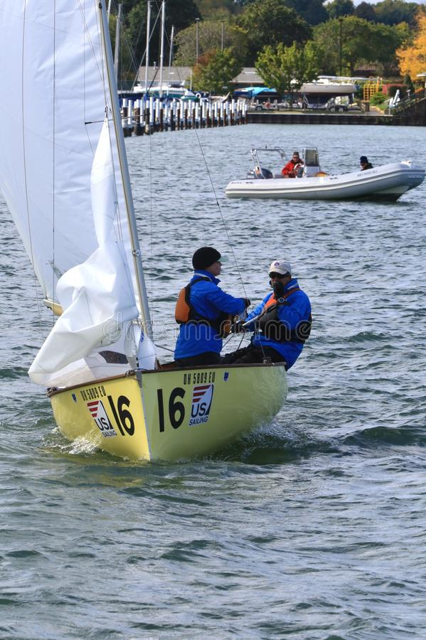 Stany Zjednoczone żeglowania drużyna zdjęcia stock