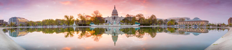 Stany Zjednoczone Capitol budynek w washington dc fotografia stock