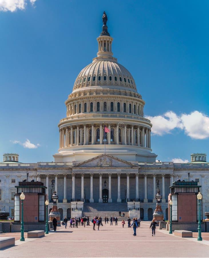 Stany Zjednoczone Capitol, Waszyngtoński d C zdjęcie royalty free
