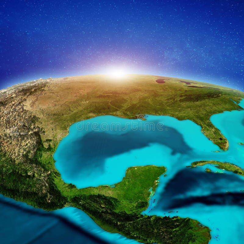 Stany Zjednoczone i Meksyk ilustracja wektor
