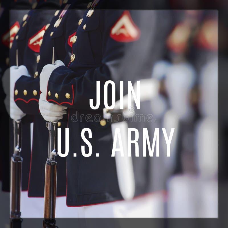 Stany Zjednoczone korpusy piechoty morskiej Szczęśliwy weterana dzień obrazy stock
