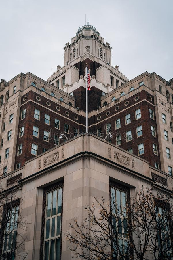 Stany Zjednoczone Obyczajowy dom w Starym mie?cie, Filadelfia, Pennsylwania zdjęcie royalty free