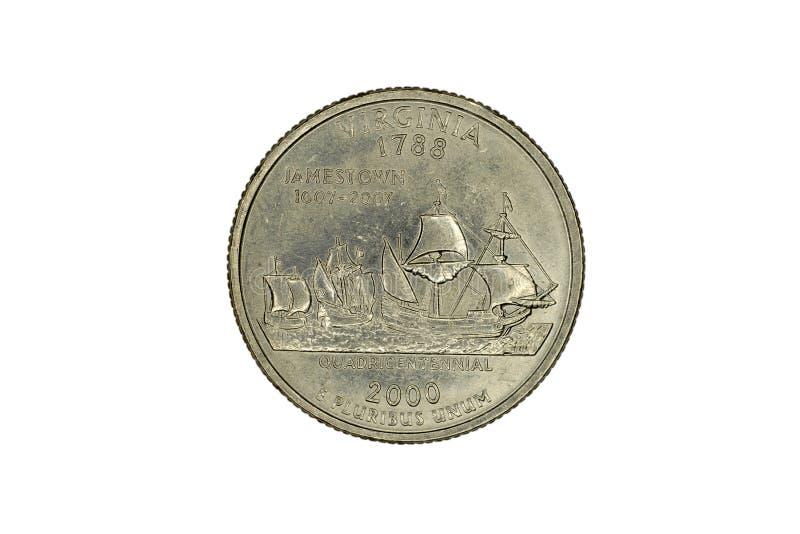 Stany Zjednoczone pamiątkowa moneta zdjęcia stock