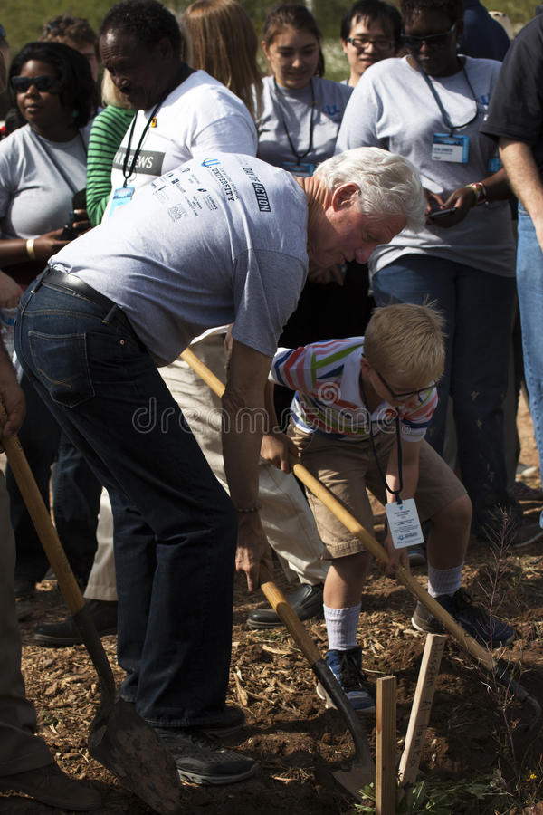 Stany Zjednoczone prezydent Bill Clinton fotografia stock