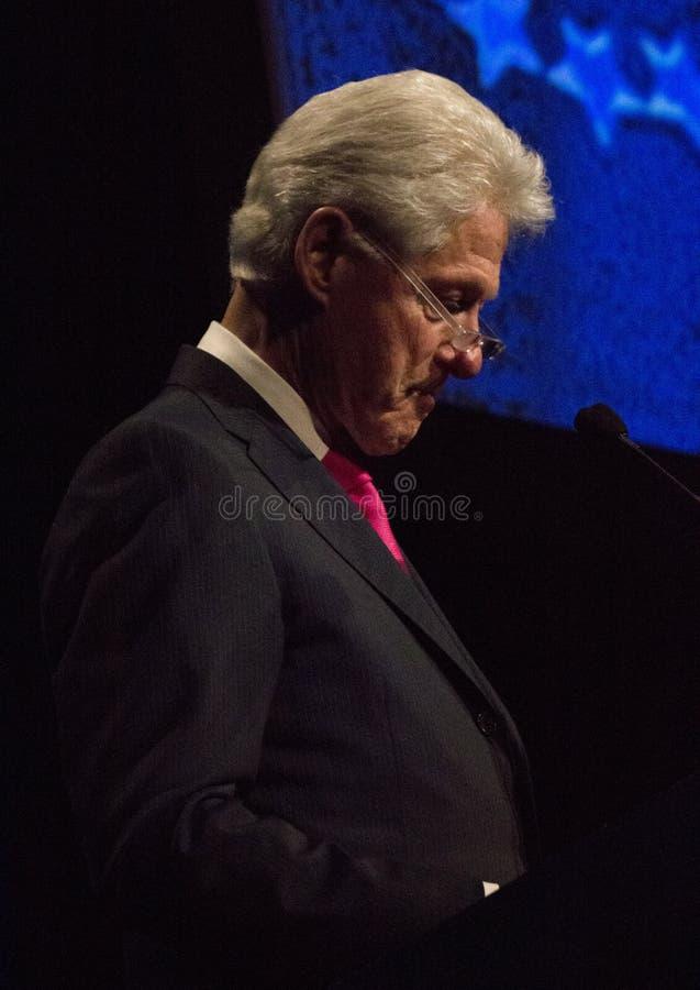 Stany Zjednoczone prezydent Bill Clinton obraz royalty free