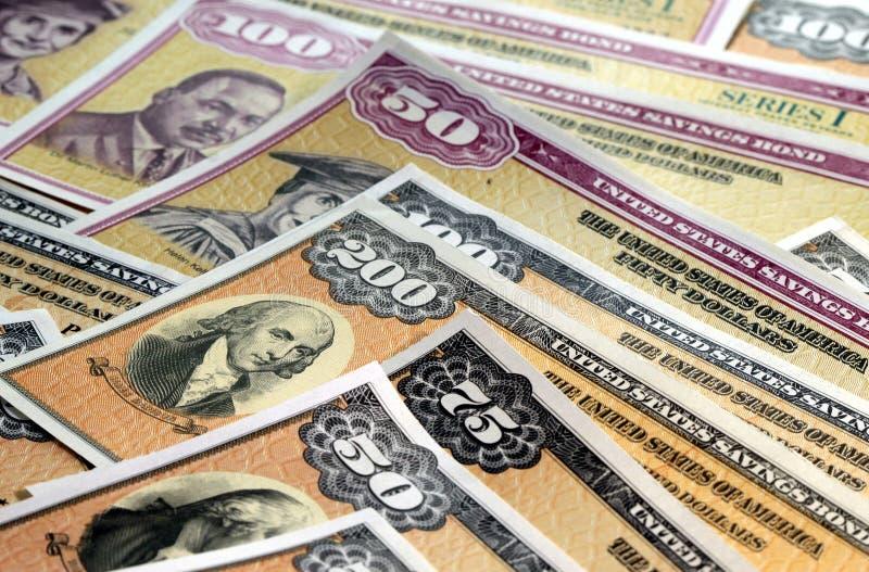 Stany Zjednoczone Savings więzi zdjęcie stock