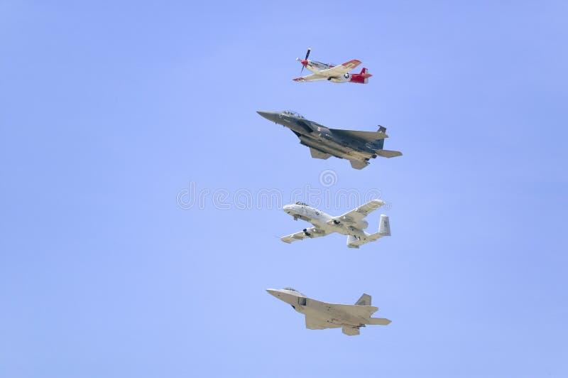 Stany Zjednoczone siły powietrzne fotografia stock
