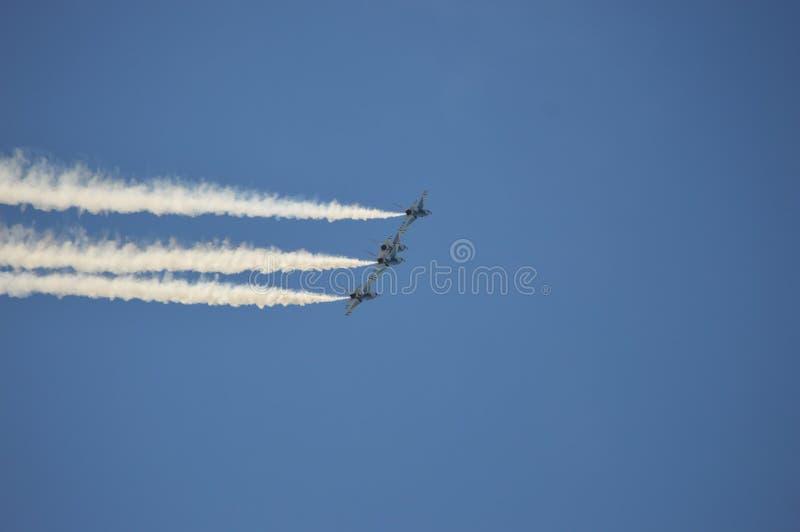Stany Zjednoczone siły powietrzne thunderbirdy zdjęcia royalty free