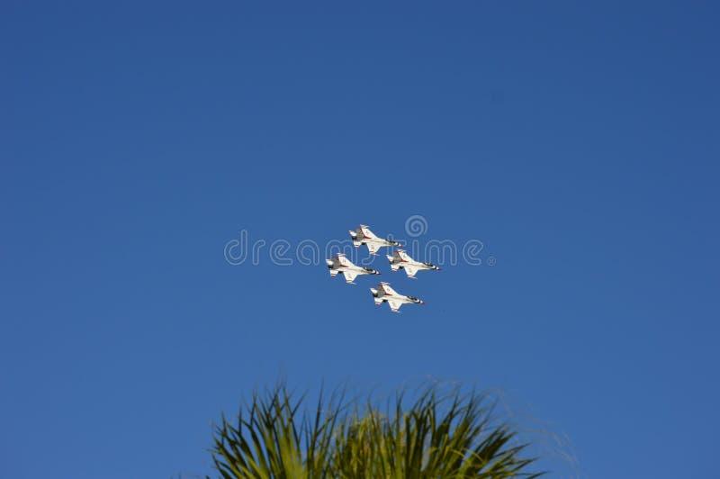 Stany Zjednoczone siły powietrzne thunderbirdy zdjęcie stock