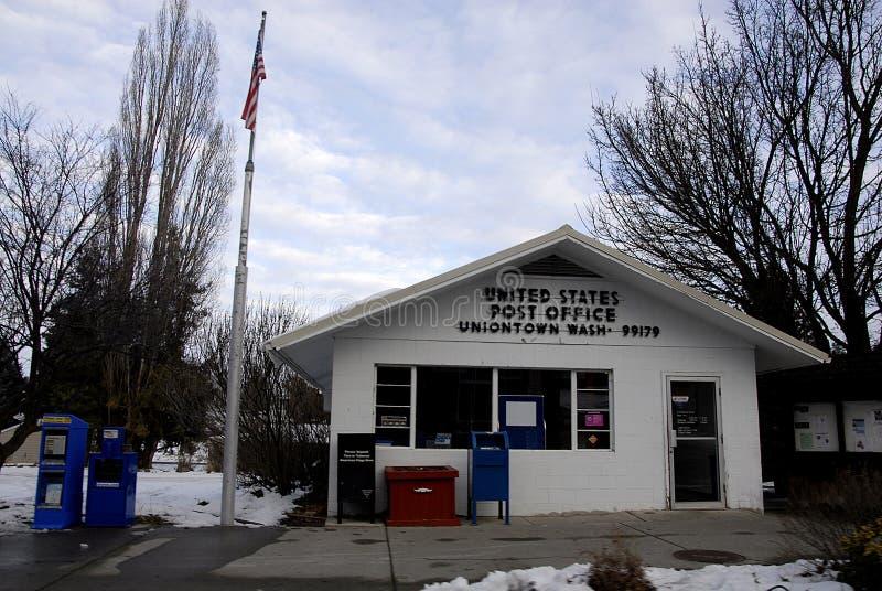 STANY ZJEDNOCZONE urzędu pocztowego zjednoczenia miasteczko obraz royalty free